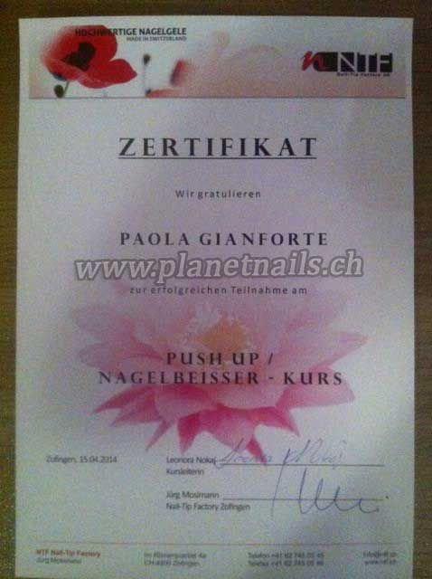 PUSH UP/ NAGELBEISSER-KURS